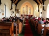The large attendance in St Thomas's Church in Dugort Achill Co Mayo, at the Memorial and Healing Service, and the Blessing and Marking of Mission Graves took place on last Saturday. Picture; Frank Dolan.