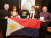 At the launch of the Robe Pastoral Area SERVE Philippines Project 2012 pictured were members of the Partry/ Tourmakeady Fundraising Committee:Left to right:Fr John Kenny(P.P.), Noreen Maloney, Seamus Mac Eachmharcaigh (Volunteer), Kitty Farragher, Michael John Casey.                          Pic:Trish Forde.