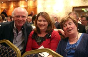 L-R: Pat Donnellan, Sephine Morris, Breege Carney, Islandeady.