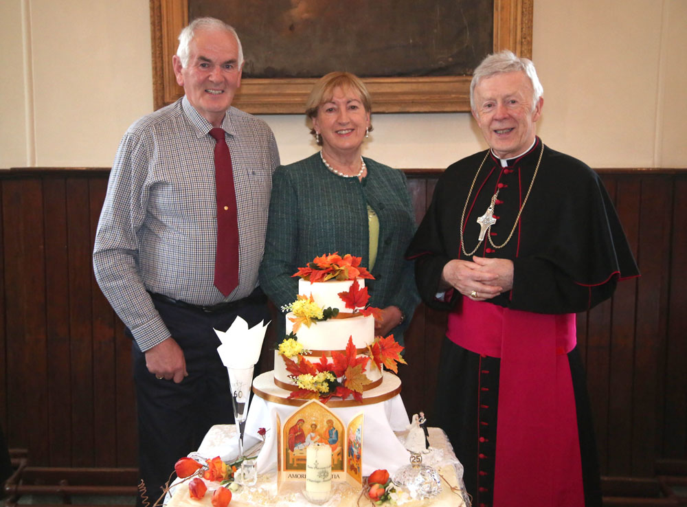 Marriage Anniversaries, Tuam Cathedral, Sunday, October 7th, 2018